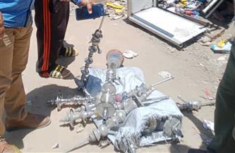 إزالة 581 إشغال طريق ومصادرة 39 شيشة في حملة بالبحيرة