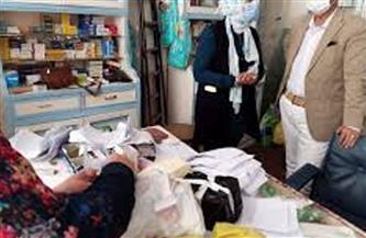 تحرير 34 محضرًا لصيدليات مخالفة و52 لمنشآت غذائية وإعدام 233 كيلو أغذية بالمنيا