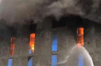 ميناء الإسكندرية يعلن تفاصيل حريق مخزن «روما».. والدفع بـ16 سيارة إطفاء للسيطرة عليه