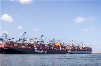 تداول 22 سفينة للبضائع والحاويات في ميناء دمياط