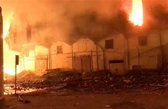 """""""ميناء الإسكندرية"""" يكشف تفاصيل حريق مبنى تابع لمصلحة الجمارك"""