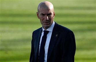 ريال مدريد ينتظر نتيجة مسحة زيدان لتحديد موقفه من مباراة أوساسونا