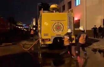 السيطرة على حريق ميناء الإسكندرية وقرارات عاجلة من النيابة العامة