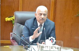 """""""صقر"""" يكلف فاتن عبدالغني برئاسة حي السويس"""
