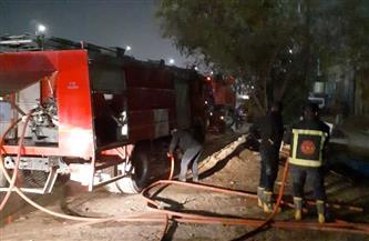 السيطرة على حريق مخزن أدوية بالعباسية