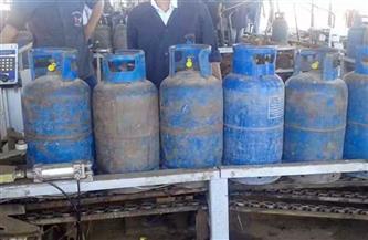 ضبط 481 قضية مواد بترولية وأسطوانات بوتاجاز في 4 أيام
