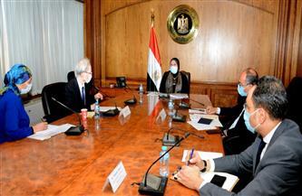 وزيرة التجارة: حريصون على مساهمة الشركات اليابانية نحو استخدام  مصر لسيارات الغاز الطبيعي  صور