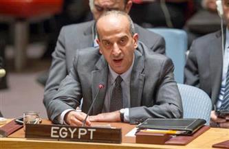مصر تؤكد دعمها لمفوض الاتحاد الإفريقي للشئون السياسية والسلم والأمن المنتخب الجديد فى مهامه