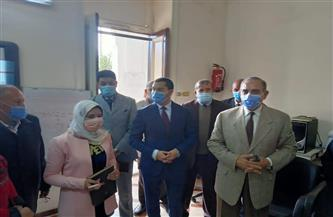"""محافظ كفر الشيخ يتابع بدء تلقي طلبات مبادرة """"التصالح حياة"""" بالمركز التكنولوجي  صور"""