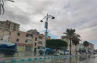 أمطار غزيرة تضرب مطروح ومدن الساحل الشمالي