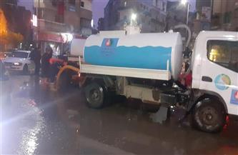 غرفة عمليات محافظة البحيرة: المراكز الشمالية لاتزال تتعرض لأمطار غزيرة منذ الظهيرة  صور
