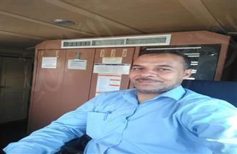 لحظات مرعبة.. سائق القطار 935 يروي لـ «بوابة الأهرام» كيف تجنب دهس سيارة نقل على مزلقان غير شرعي | صور