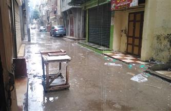 تعطيل الدراسة في دمياط بعد تعرضها لأمطار غزيرة | صور
