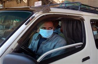 تحرير مخالفات لـ5934 سائق نقل جماعي لعدم ارتداء الكمامة.. و499 مخالفة للمحلات