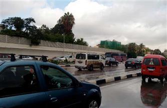 رغم الأمطار.. سيولة مرورية كبيرة في شوارع القاهرة الكبري| فيديو