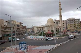 أمطار غزيرة على مدن العريش والشيخ زويد وبئر العبد بشمال سيناء