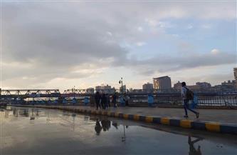 سقوط أمطار غزيرة على مدينة المنصورة| صور