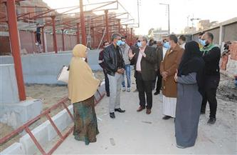 السكرتير العام يتابع ملف التصالح ويتفقد بعض المشروعات بمركز الباجور| صور