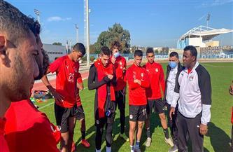 14 لاعبًا بمنتخب الشباب يخوضون تدريباتهم استعدادًا لمواجهة تونس| صور