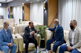 محافظ أسوان يلتقي وفد وزارة التخطيط| صور