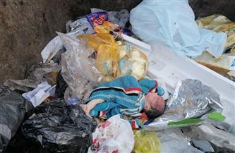 العثور على طفل حديث الولادة بصندوق قمامة في نجع حمادي