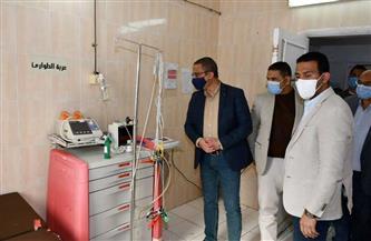 محافظ الفيوم يشدد على التزام الأطباء وأطقم التمريض بمستشفى طامية بالإجراءات الاحترازية | صور