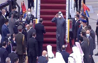 الموقع الرئاسي ينشر فيديو تفاصيل مباحثات الرئيس السيسي مع ولى عهد أبو ظبي