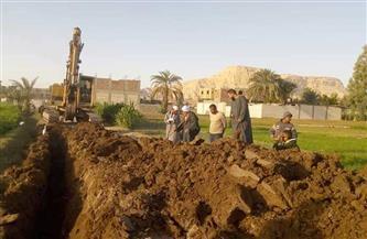 تركيب خط مياه الرملة بقرية أبو مناع بحري ينقذ أهلها من السموم..  ومواطنون: نشكر مجلس الوزراء   صور