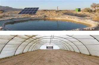 مشروع لاستخراج مياه الآبار للشرب والزراعة بالطاقة الشمسية بوادي سيلفا | صور