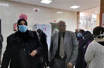 وكيلة الصحة بكفر الشيخ تفتتح بنك الدم التخزيني بوحدة الكلي بسنهور المدينة | صور