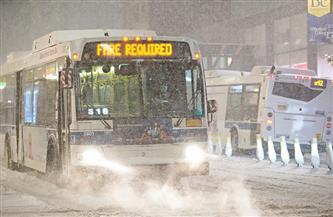 إلغاء أكثر من 1300 رحلة جوية في الولايات المتحدة تحسبا لهبوب عاصفة
