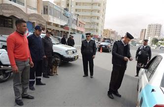تحرير 385 مخالفة مرورية في حملة بطرق وشوارع الغربية