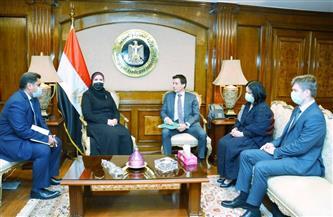 وزيرة التجارة: اتفاقية التجارة الحرة بين مصر ودول الاتحاد الاقتصادي الأوراسي أحد أهم أولويات الحكومة