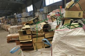 ضبط مصنع عبوات كرتونية لمنتجات غذائية بدون تفويض بالطباعة من أصحاب الشركات