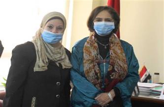"""نائلة جبر في لقائها مع وكيل """"الأطباء"""": حملاتنا التوعوية تستهدف الضحايا"""