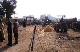 محافظ الشرقية يتابع أعمال تغطية مصرف أبو ياسين بتكلفة 779 ألف جنيه | صور