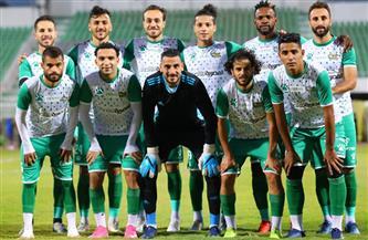 الشوط الأول.. تعادل سلبي بين المصري والجونة في الدوري