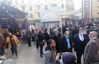 إقبال كثيف على عمومية محاميي الإسكندرية للتصويت على دمج النقابات الفرعية | صور