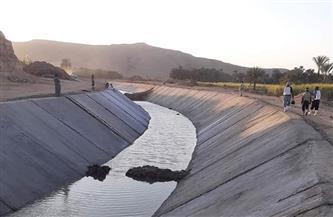الري: تبطين الترع يوفر 10% من المياه.. وتكلفة المشروع 18 مليار جنيه | فيديو
