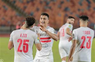 مصطفى محمد يحرز التعادل للزمالك أمام بيراميدز