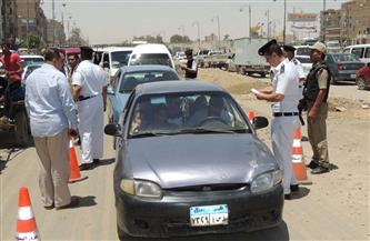 تحرير 123 ألف مخالفة مرورية متنوعة خلال 3 أيام
