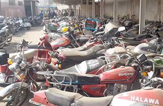 ضبط 2146 دراجة نارية مخالفة خلال أسبوع