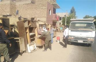 حملة لرفع الإشغالات من شوارع حي بولاق أبو العلا