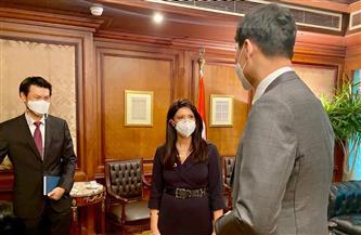 وزيرة التعاون الدولي تبحث توسيع التعاون مع كوريا الجنوبية