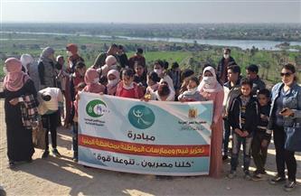 «التضامن» تبدأ تنفيذ خطة «تعزيز قيم وممارسات المواطنة» في 44 قرية بمحافظة المنيا  صور