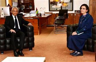 رئيس وزراء موريشيوس يستقبل سفيرة مصر لبحث العلاقات الثنائية  صور