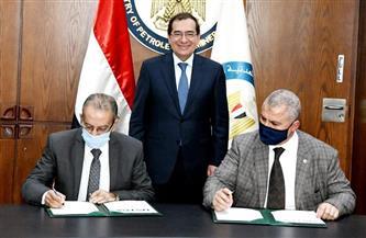 توقيع اتفاقيتين مع وكالة التنمية والتجارة الأمريكية لدعم تطوير معامل تكرير البترول| صور