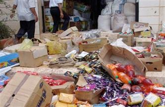 ضبط أكثر من 120 طن مواد غذائية فاسدة داخل 5 شركات ومصنع