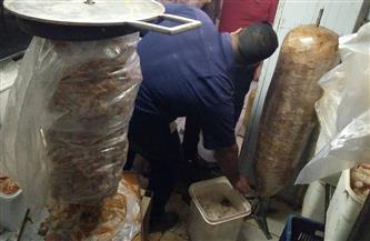 إعدام 605 كيلوجرامات أغذية فاسدة في أسواق 3 مراكز بالشرقية