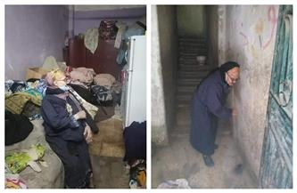 التضامن تستجيب لاستغاثة سيدة سبعينية.. تعرف على التفاصيل  صور